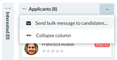 Bulk messaging